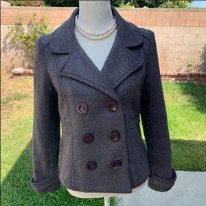 🌻2 for 15🌻Gray Short Pea coat/jacket
